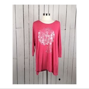 3 for $15 I Lucky Brand floral graphic tunic